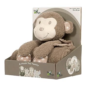 Bo Jungle B-Plush Toy With Blanket (Tambo The Monkey): Amazon.co.uk ...