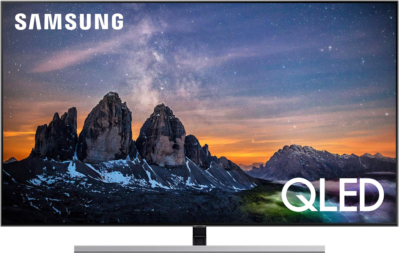 جهاز تلفزيون ذكي مسطح من سامسونج بدقة 4 كيه الترا اتش دي سلسلة 7 (2019) - اسود 55 UA55RU7100KXZN