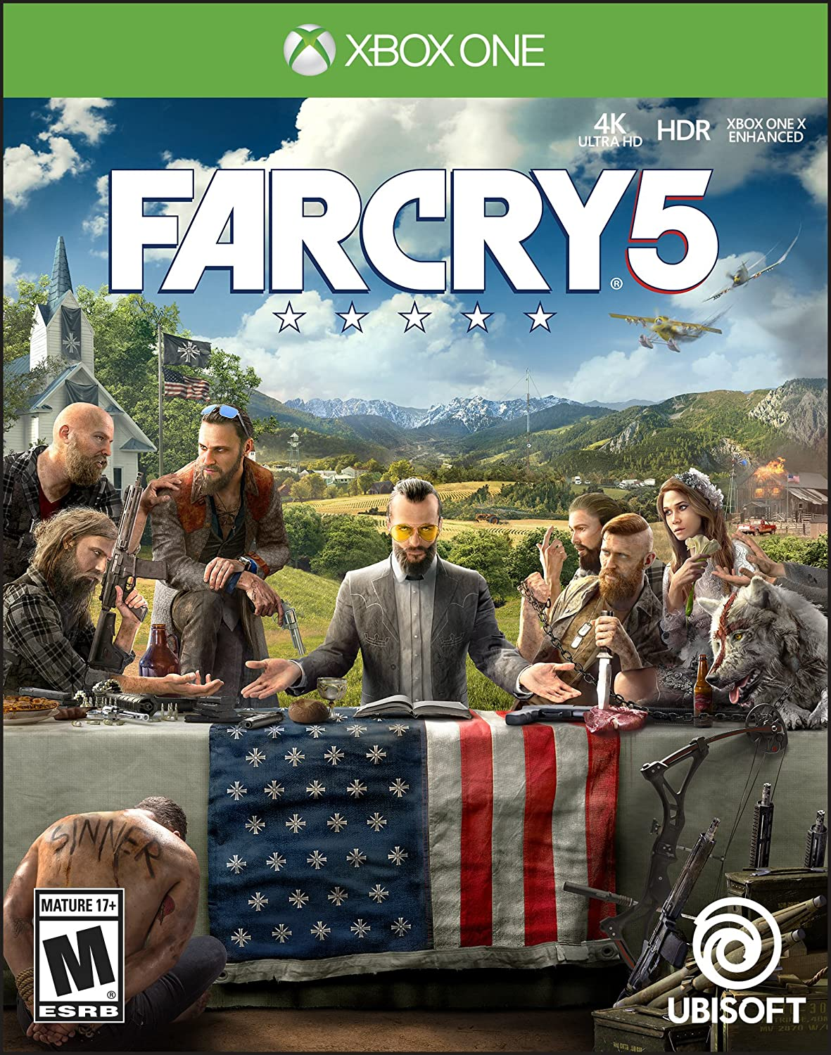 Ubisoft Far Cry 5, Xbox One vídeo - Juego (Xbox One, Xbox One, FPS ...