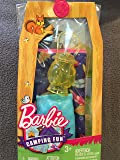 Barbie Camping Fun accessoriesSleeping bag, Lantern and Pillow - 3 Pieces