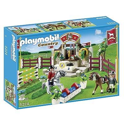 Playmobil 5224 - Jeu de Construction - Piste d'obstacles Hippiques