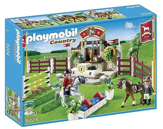Piste Hippiques De Playmobil D'obstacles Jeu Construction 5224 9W2IeHbEDY