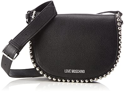 2b70932dc0 Amazon.com: LOVE Moschino Women's Pallina Crossbody Bag Black One Size:  Shoes