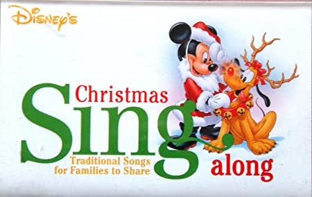 disneys christmas sing along traditional songs for families to share audio cassette