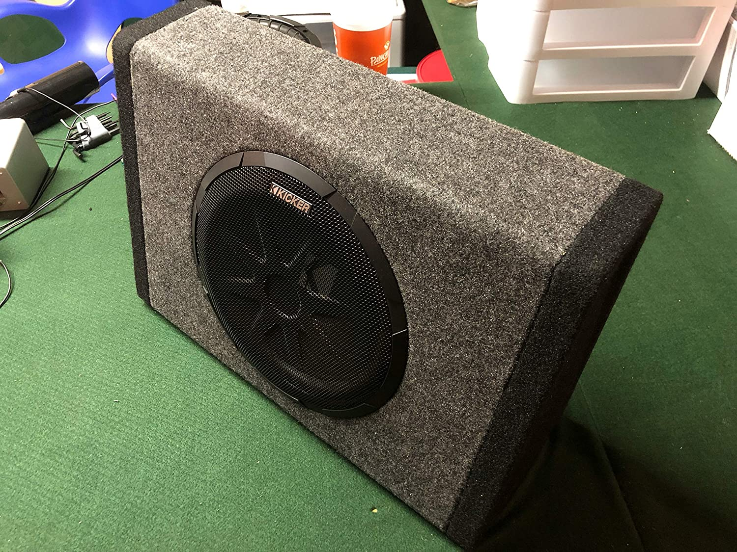 kicker pt250 10 subwoofer with built in 100w amplifier Kicker Amp