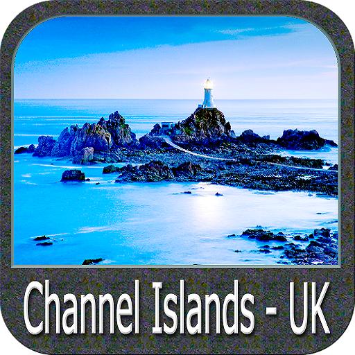 Channel Islands(UK) gps nautical charts