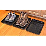 "6-PACK of Utility Trays for Boot, Pet, Garden, Shoe 15.7"" x 11.8"" x 1.0"""