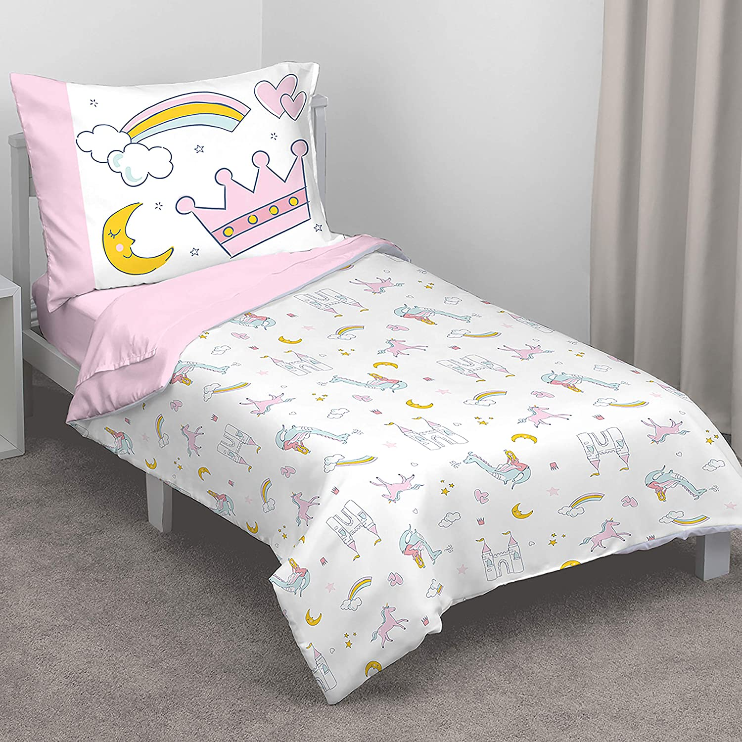 Carter's Whimsical Princess Tales 4 Piece Toddler Bed Set