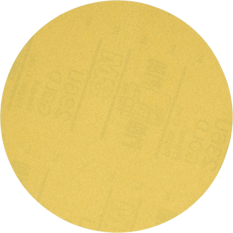 B0015PG5RG 3M Hookit Gold Disc 236U, 00979, 6 in, P180, 100 discs per carton 915l64zzF5L