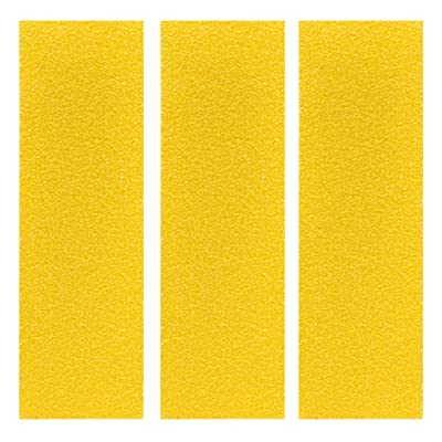 Teak Tuning Premium Fingerboard Skate Grip Tape, Yellow Edition (3 Sheets): Toys & Games
