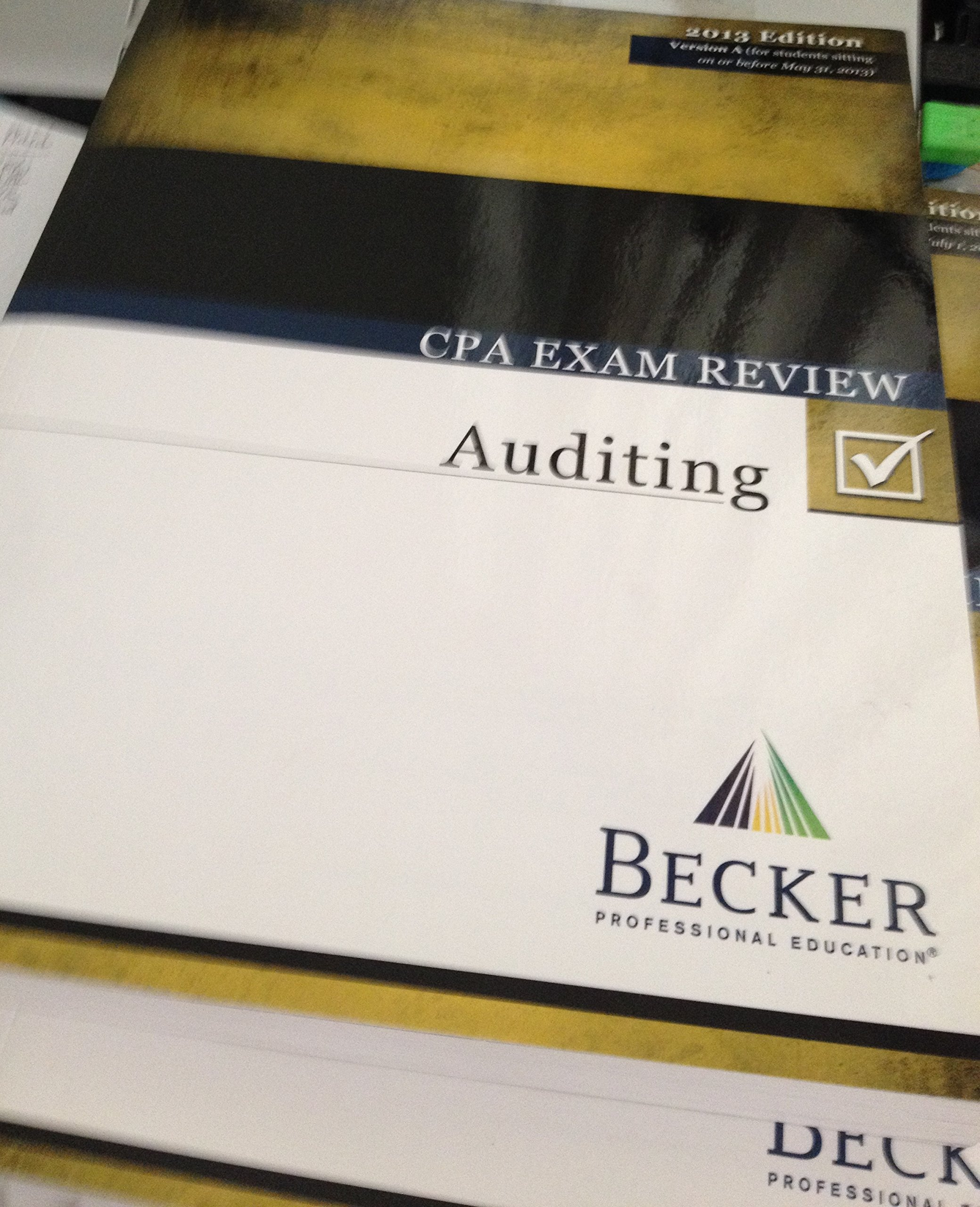 Becker cpa exam review auditing 2013 edition becker professional becker cpa exam review auditing 2013 edition becker professional education 9780003186253 amazon books fandeluxe Choice Image