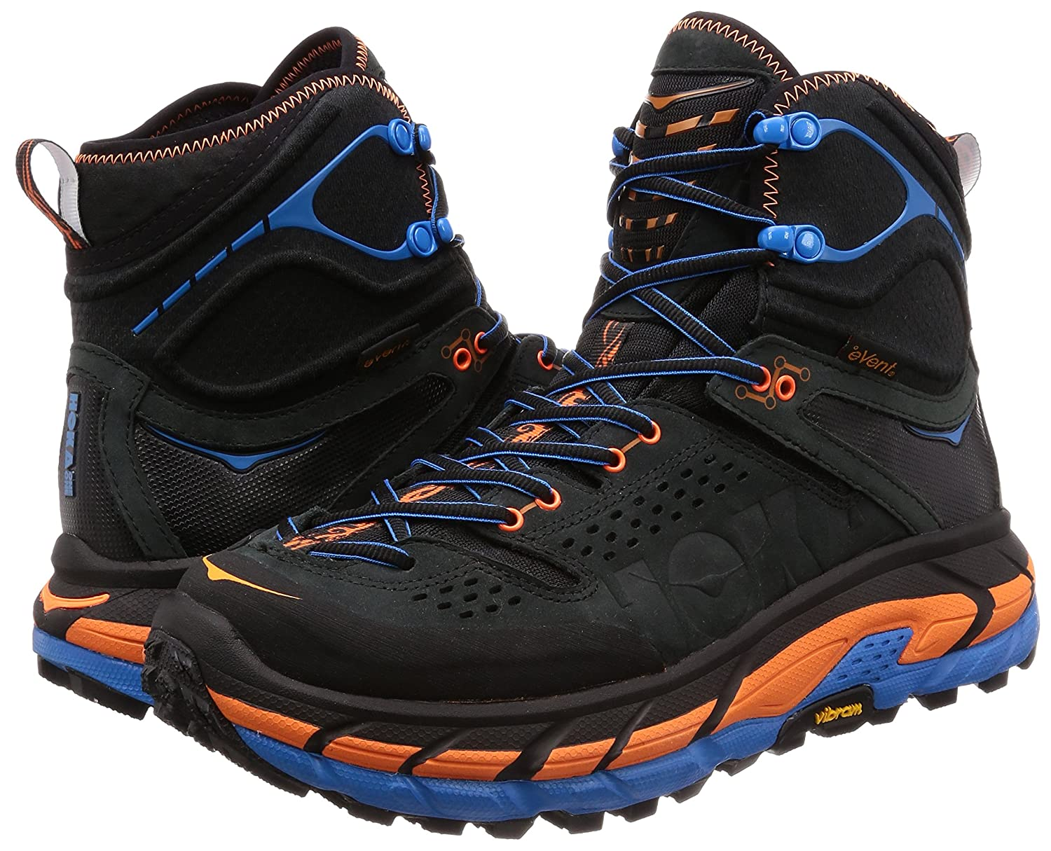 Amazon.com | HOKA ONE ONE Mens Tor Ultra Hi Waterproof Hiking Shoe, Anthracite/Orange, US 9 M | Hiking Shoes