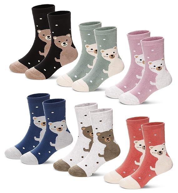 bcee1196ff03 Amazon.com  Children s Soft Thick Cotton Animal Socks Thermal Warm ...