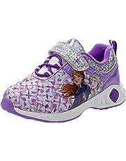 Disney Frozen Elsa and Anna Girls Fashion Sneakers (Toddler/Little Kid)