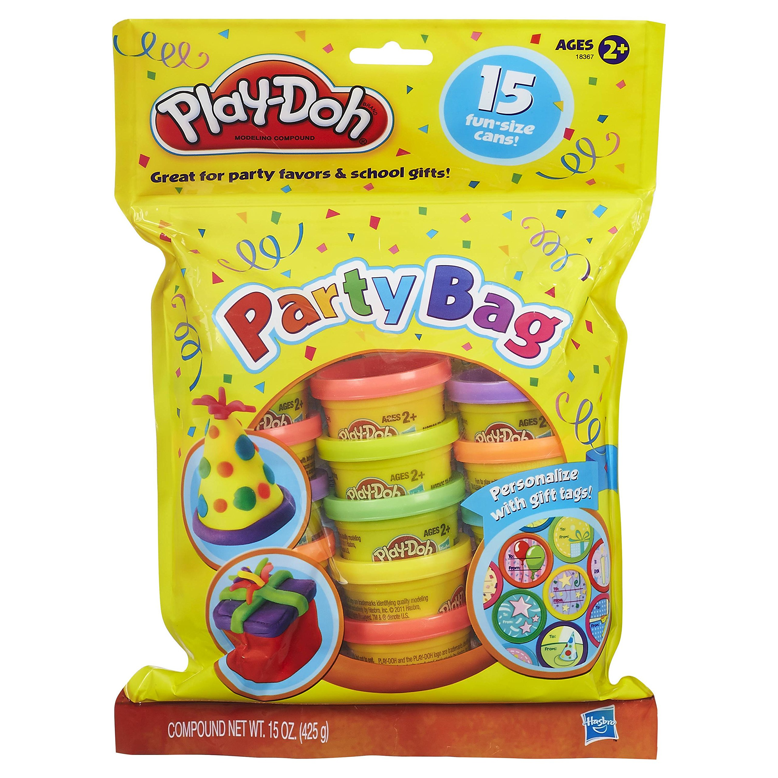 amazoncom play doh party bag dough 15 count toys games