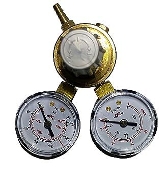 Reductor de presión para soldadura de hilo Argón/CO2 con dos ...