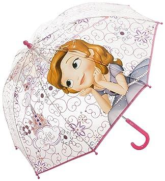 1 X Infantil paraguas- Frozen Princesa Sofía- Se abre Approxx 66cm ancho