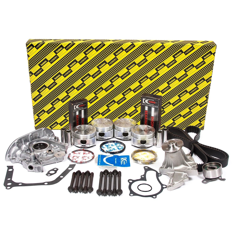 Evergreen ok2026 m 93 - 97 Geo Prizm Toyota Corolla 4 AFE Master revisión Motor Kit de reconstrucción (W/O aceite Sensor puerto): Amazon.es: Coche y moto