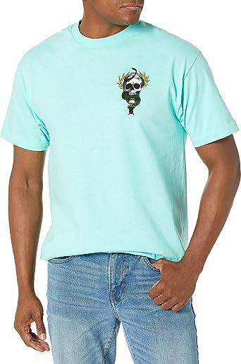 Powell-Peralta Mcgill - Camiseta de Skateboard, diseño de Calavera y Serpiente