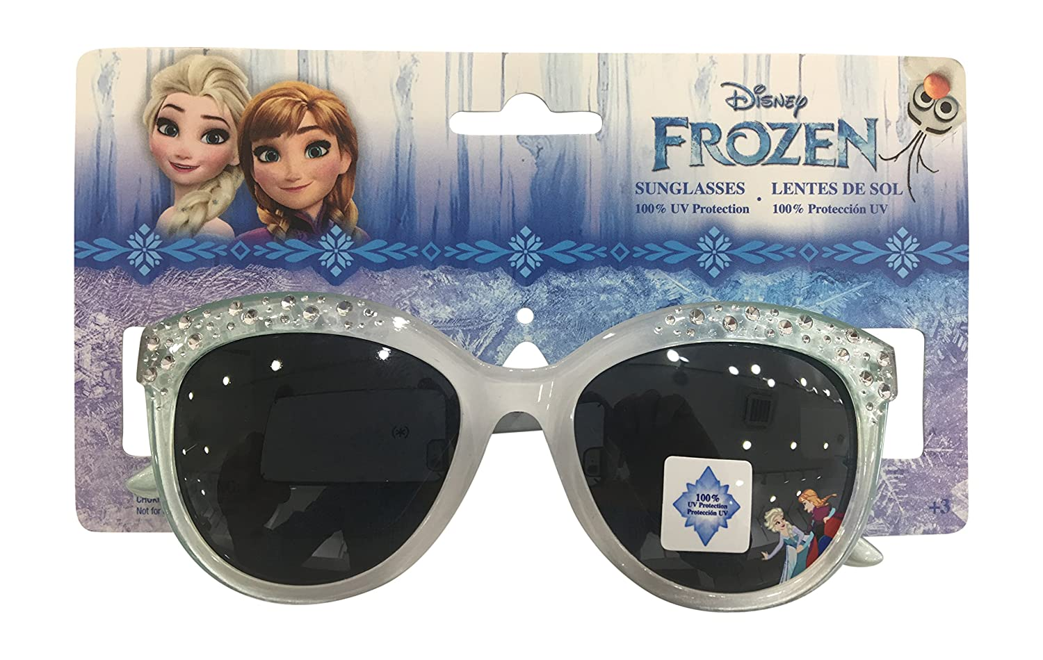 Frozen Anna and Elsa Stars Sunglasses - 100% UVA & UVB Protection