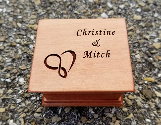 Amazon Custom Music Box With An Infinity Heart Symbol And Your
