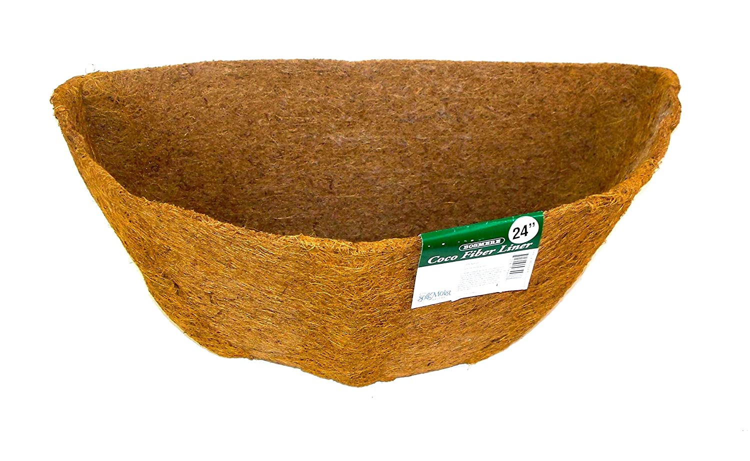 Bosmere 24 Pre-Formed Replacement Coco Liner with Soil Moist for Wall Basket F906