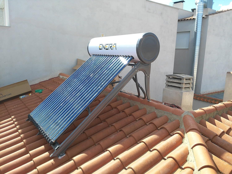 Calentador solar de alta potencia Enera PRO (100 litros): Amazon.es: Bricolaje y herramientas