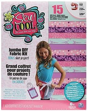 Cool Maker Sew Cool Jumbo DIY Fabric Kit - kits de costura para niños (Costura