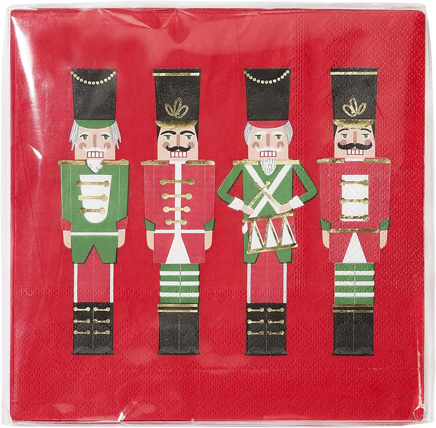 Ambiente Christmas Napkin 33 Centimeter Poinsettia all Over Pack of 20