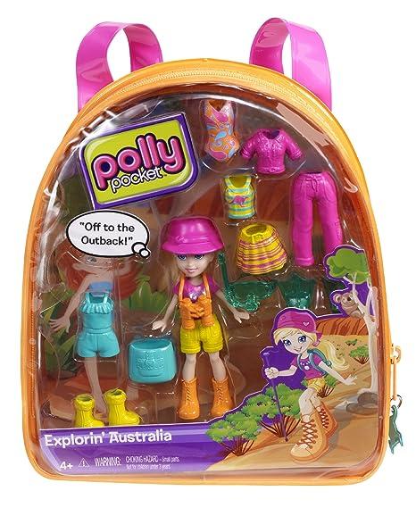 Polly Pocket - Mochilas De Polly-Modas, explorando Australia (Mattel X1281)