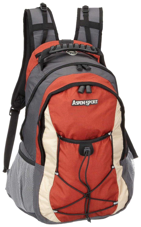 ASPENSPORT Sac à dos Outdoor et Trekking 35L Gris / rouge   B00313JE7I
