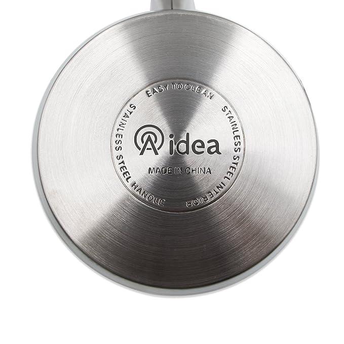 Aidea 12 piezas Batería de cocina de acero inoxidable Set ...