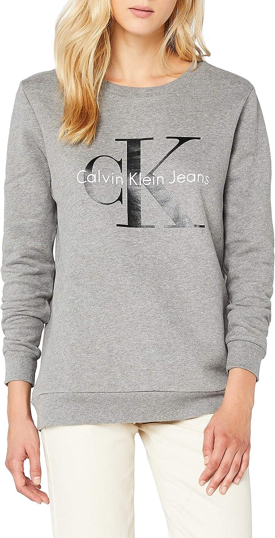 TALLA XS. Calvin Klein Crew Neck HWK True Icon Sudadera para Mujer