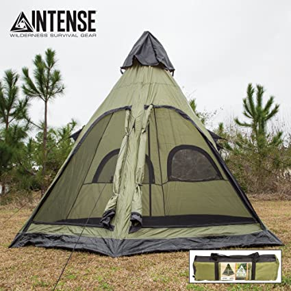 buy online c559e 59e98 Intense 4-Person Teepee Tent