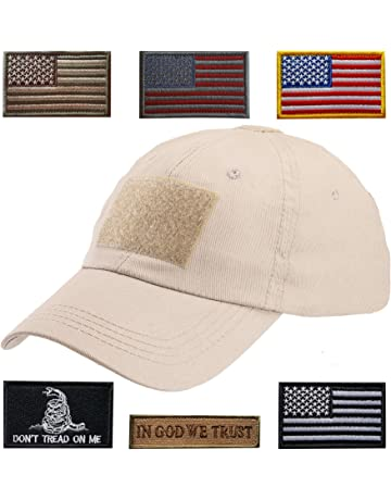 Lightbird Tactical Hat with 6 Pieces Tactical Military Patches 9bc979c1337e
