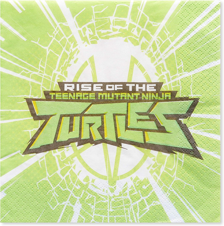 American Greetings Teenage Mutant Ninja Turtles (TMNT) Party Supplies, Paper Lunch Napkins (16-Count)