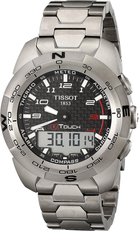 Tissot Men s T0134204420200 T-Touch Expert Titanium Watch