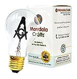 Mandala Crafts E27 3W Freemason Masonic Square