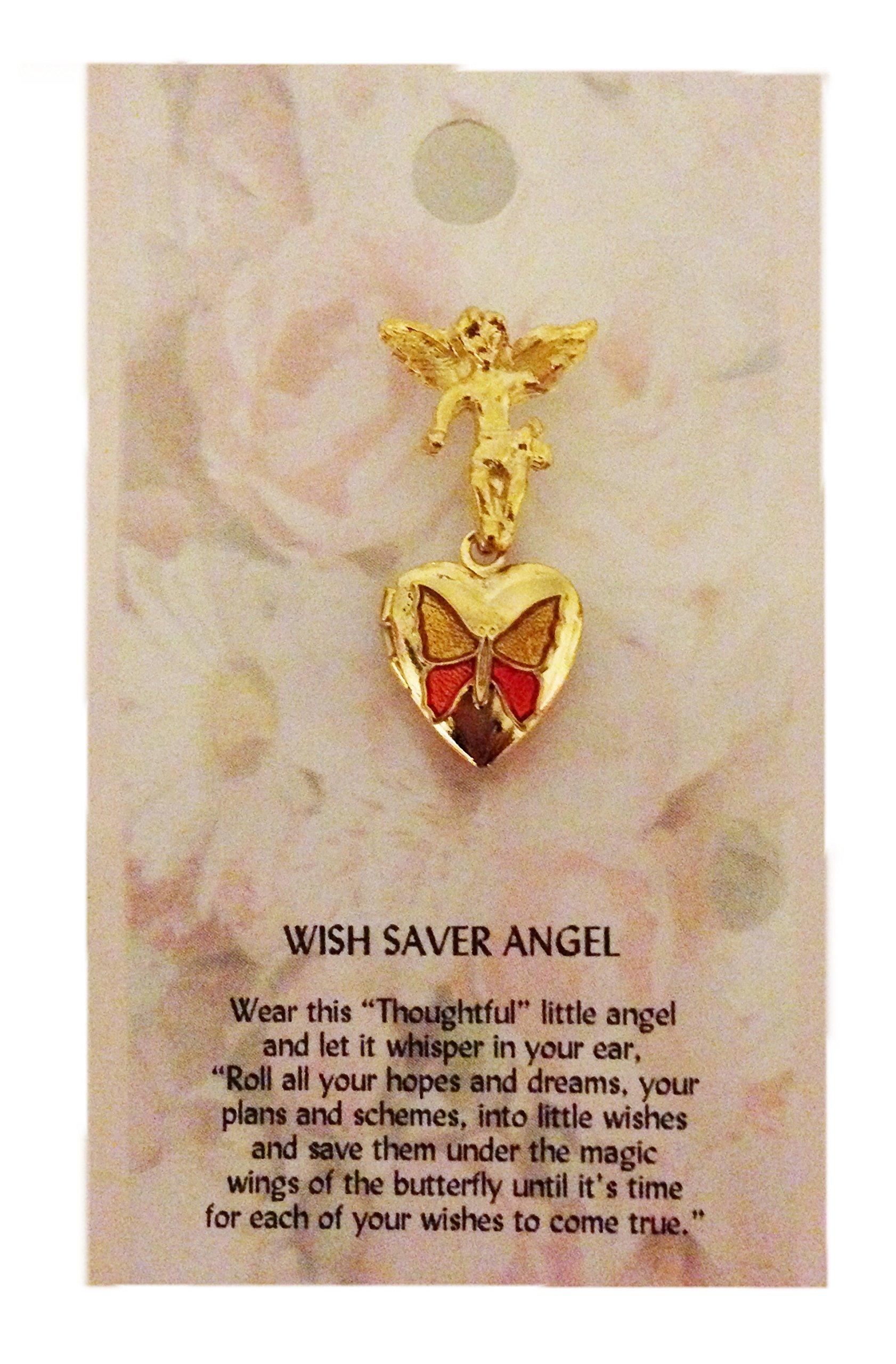 Thoughtful Angel PIN Wish Saver