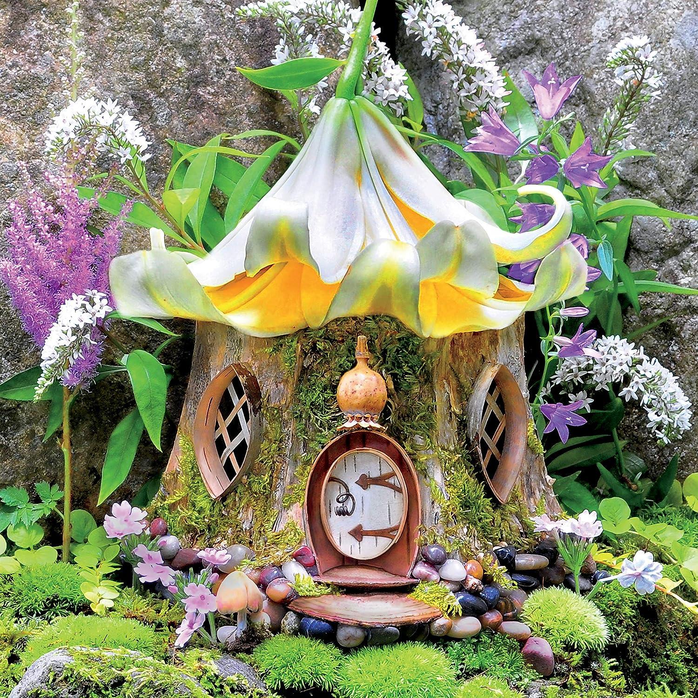 Ceaco 2248-6 Fairy Houses Lily Tea House - 300Piece