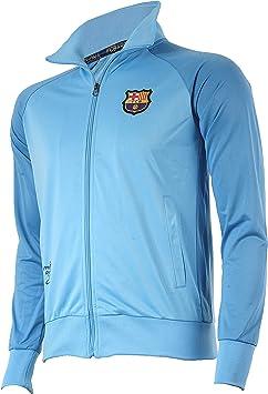 f/ür Jungen offizielle Kollektion von FC Barcelona Kindergr/ö/ße Trainingsjacke mit Rei/ßverschluss Barcelona