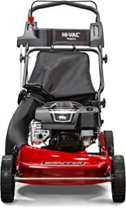 Snapper 2185020 / 7800979 HI VAC 190cc 3-N-1 Push Lawn Mower with 21-Inch Mower Deck and Ready Start System and 7 Position Height-of-Cut