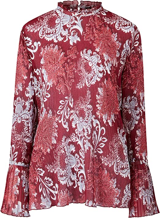 Womens Pleated Blouse JD Williams