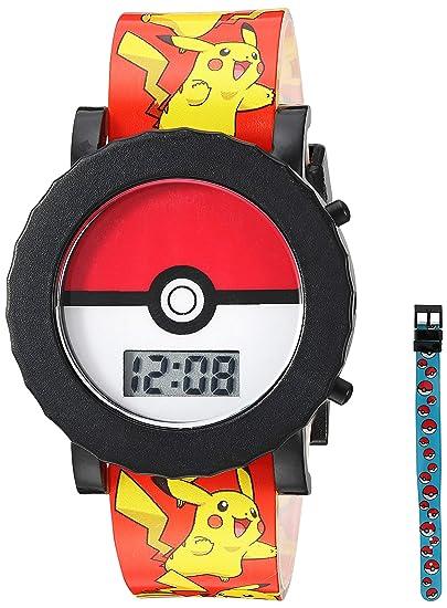 Amazon.com  Pokemon Boys  Quartz Watch with Plastic Strap 4ec9305c51ee0