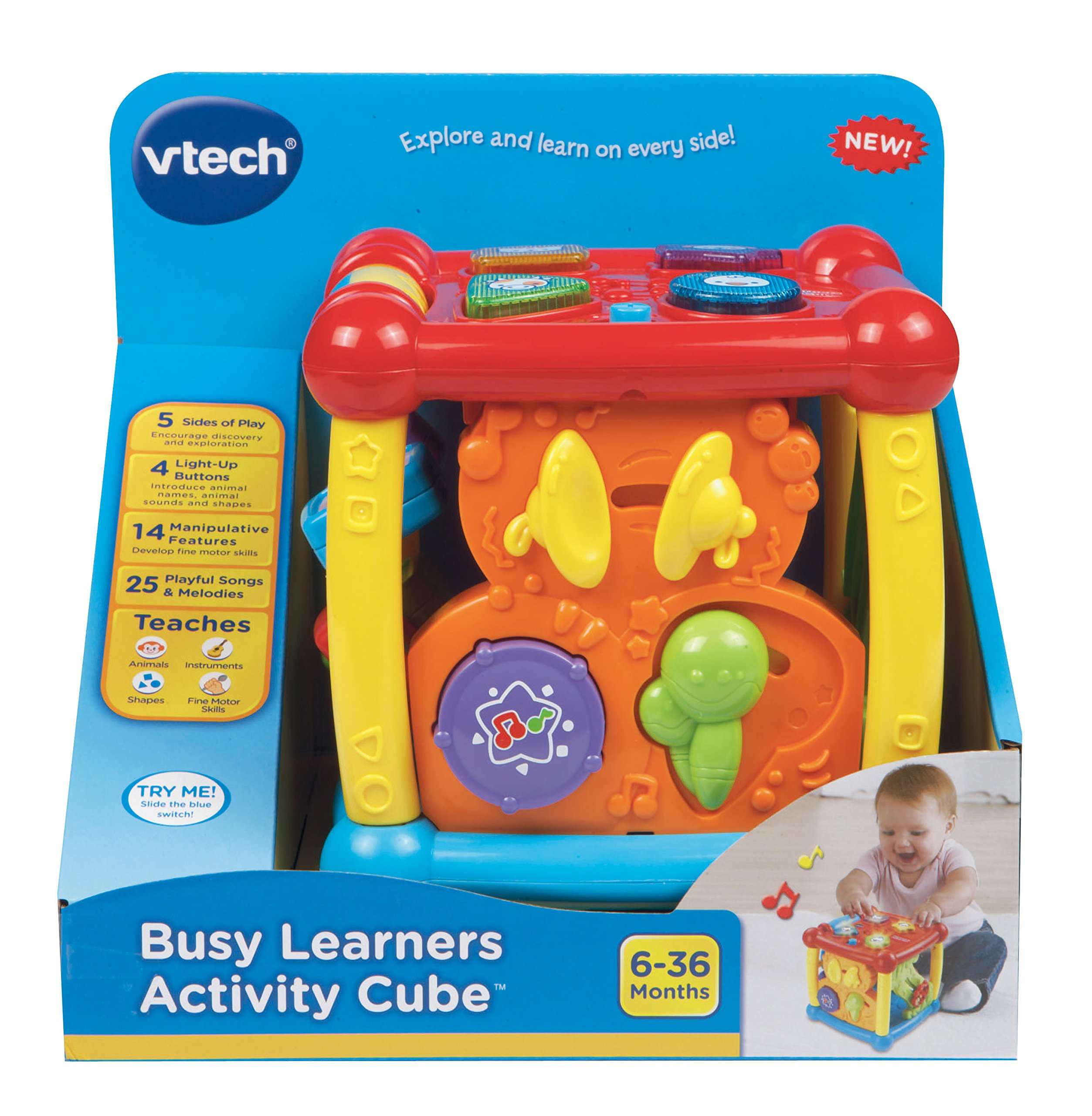 VTech Busy Learners Activity Cube by VTech (Image #5)