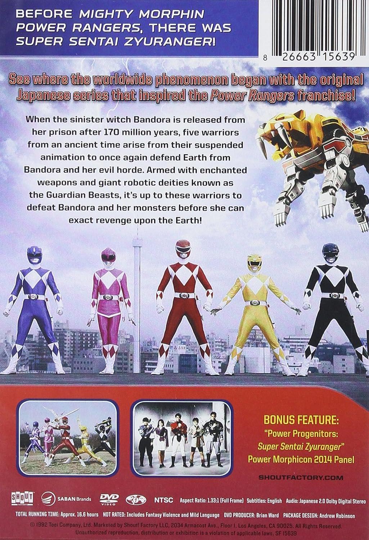 Power Rangers: Super Sentai Zyuranger - Complete Edizione ...