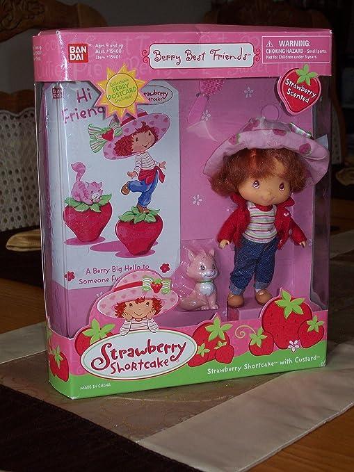 Amazon Com Berry Best Friends Strawberry Shortcake With Custard
