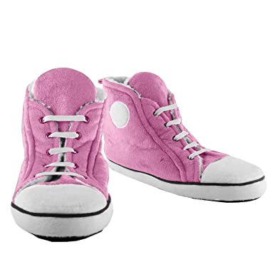 d666cd759330 Pink Sneaker Slippers (Medium)  Amazon.co.uk  Shoes   Bags