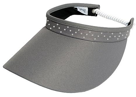 GloveIt Women s Adjustable Coil Visor - Golf   Tennis Head Visors for Women  - UV 50 5dbd4dcfbaf