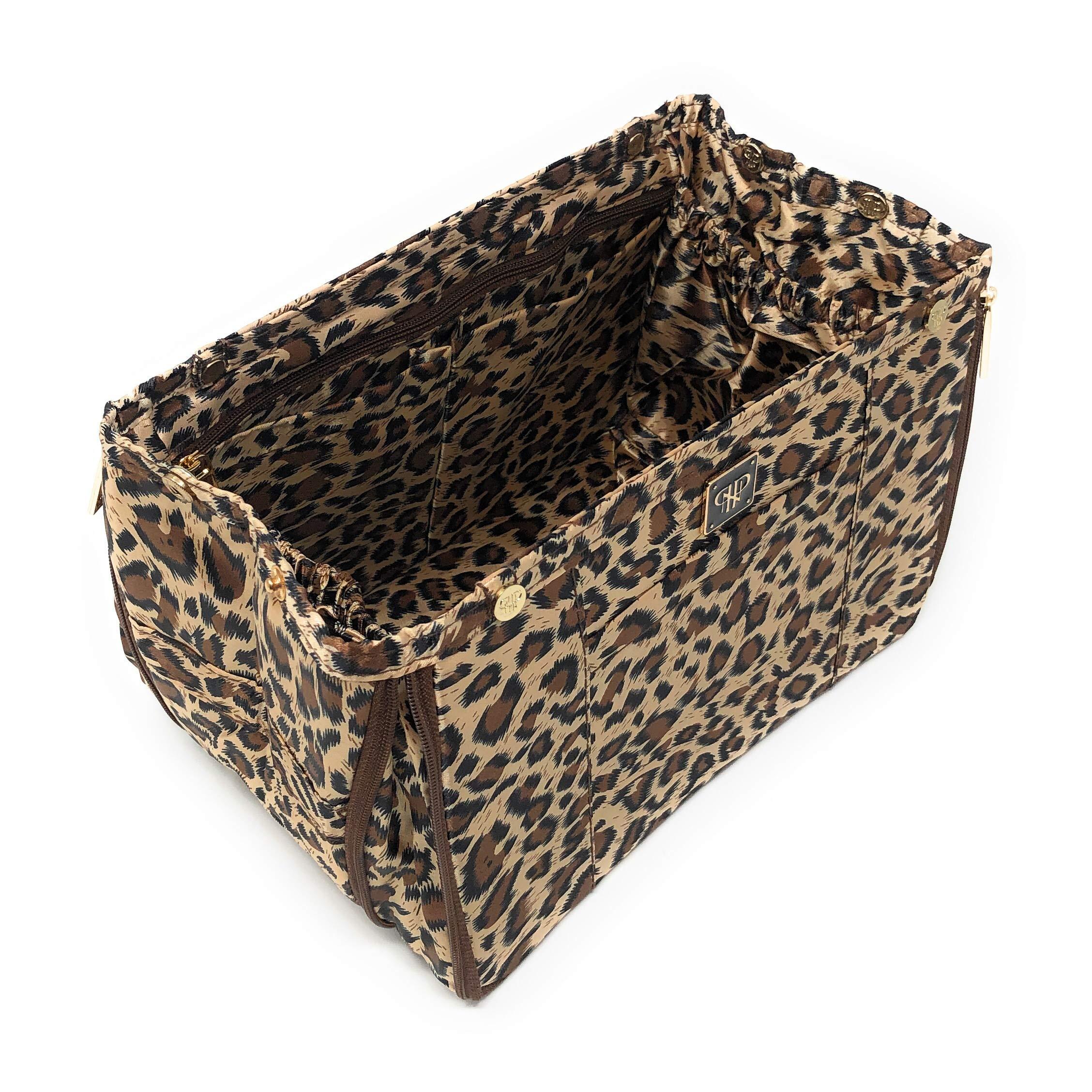 PurseN Organizer Insert (Small, Leopard/ Leopard) by PurseN
